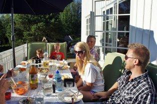 Tobias, Tore, Vebjørn, Lindsay and Skjalg