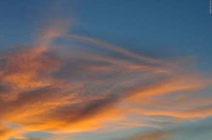Закат в Улан-Удэ
