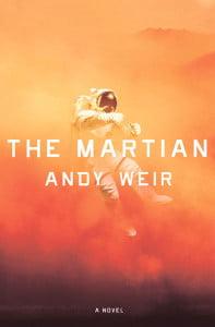 Обложка книги Энди Уира «Марсианин»