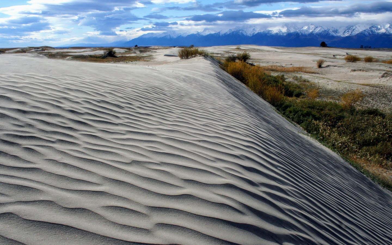 Sand dunes in Kurumkan