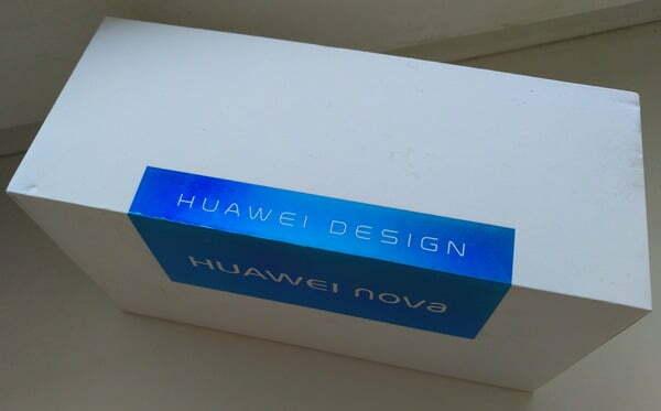 Huawei Nova - упаковка