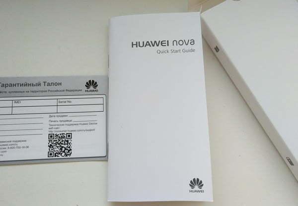 Huawei Nova инструкция