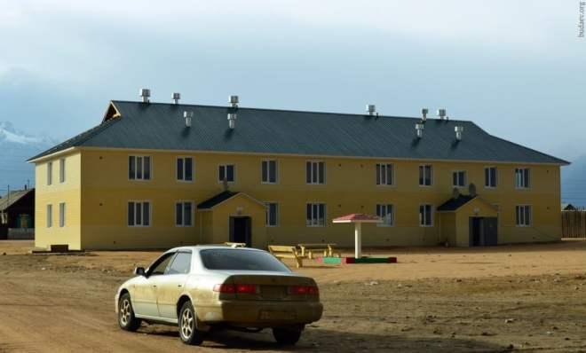 Курумкан. Новый многоквартирный дом