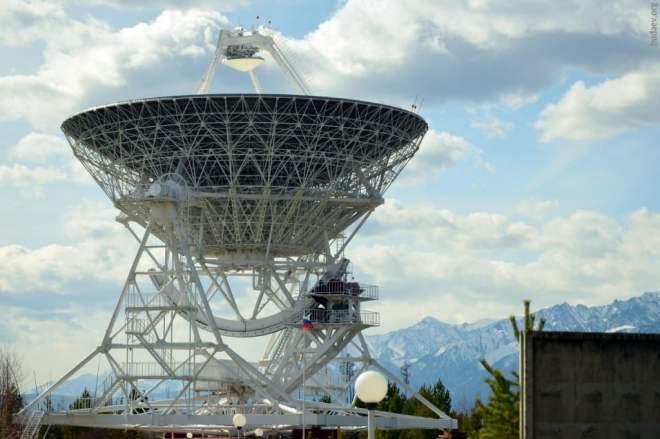 Тунка. Бадары. Радиотелескоп РТФ-32