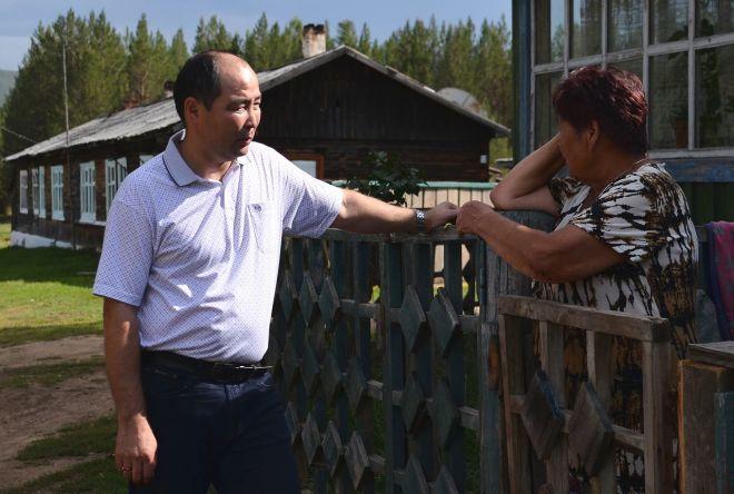 Леонид Будаев встречается с избирателями