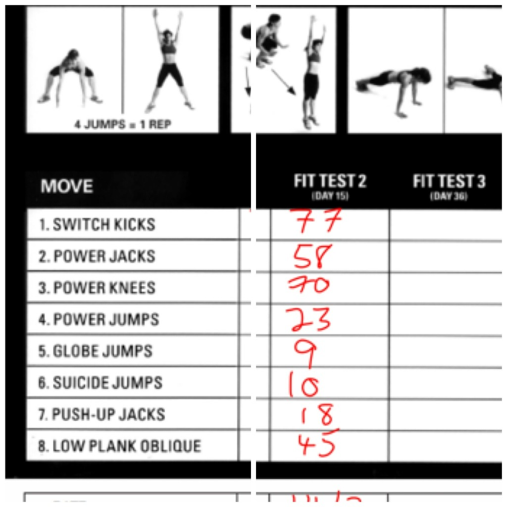Insanity Workout Day 15 Fit Test Blog Dandk