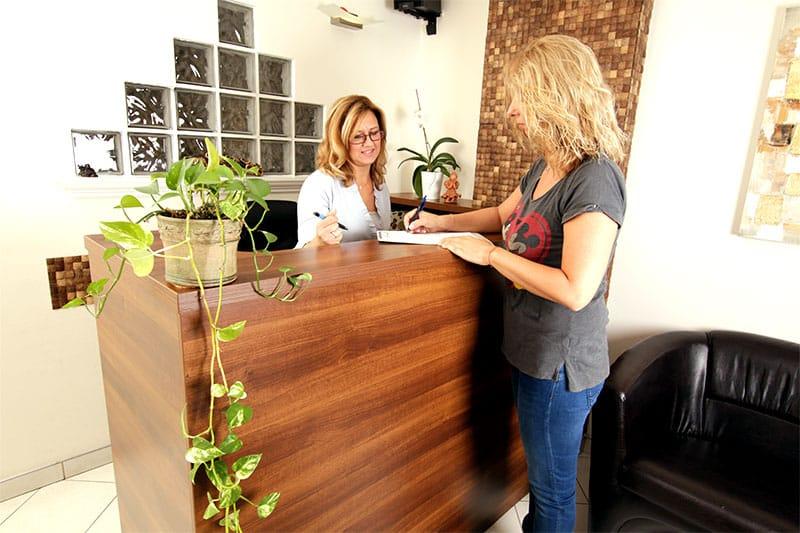 Budaörs Dental recepció