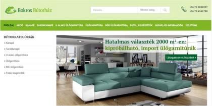 Bokros Bútorház - részlet a honlapról
