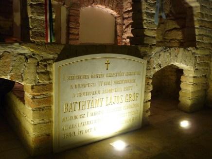 miejsce pierwszego pochówku Batthyanya