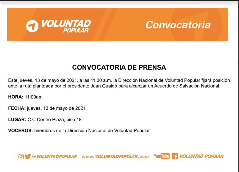 Prensa Voluntad Popular