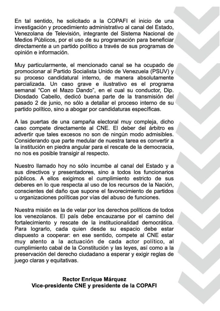 Twitter Enrique Márquez