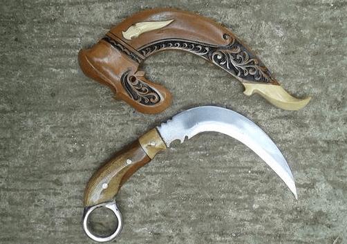 senjata adat sumatera selatan