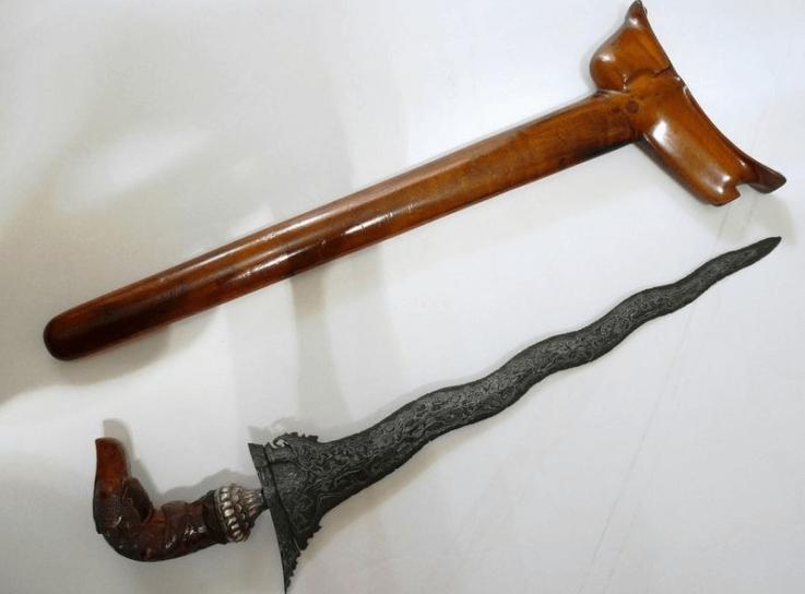 senjata sumatera selatan