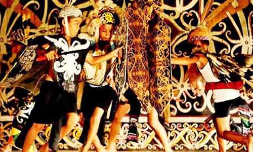 Tarian Tradisional Kalimantan Barat