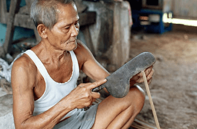 Senjata Tradisional Jawa Tengah Kudi