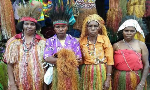 pakaian adat suku papua