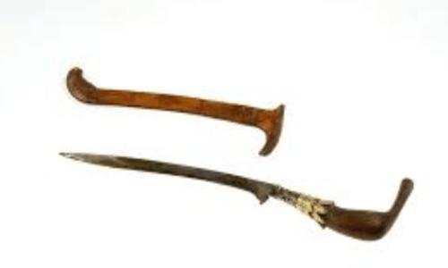 senjata tradisional 34 provinsi dan gambarnya