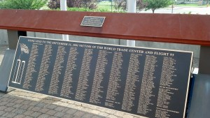 Budco was contacted to move 1500 lb eyebeam, originally from ground zero, from Farmingdale State College to the Bethpage Ballpark (Duck Stadium). We restored the beam, installed it in its final position, and mounted the memorial plaques.