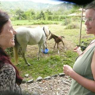 Angela and Anasha with Celita &