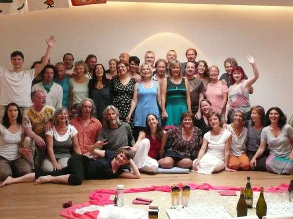 Graduation Day, july 2012... 2 Year ARUN Conscious Touch Training @ Osho UTA, Koln. We love all you guys