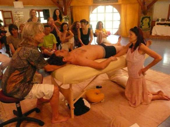 """in ARUN Conscious Touch gatherings we create a """"creative noosphere"""" together, where love and awareness grow organically"""