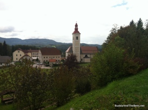Church near Slovenian Beekeeping Center
