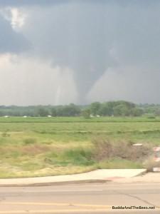 Tornado in Berthoud - 6/4/2015 from Proto's Pizza