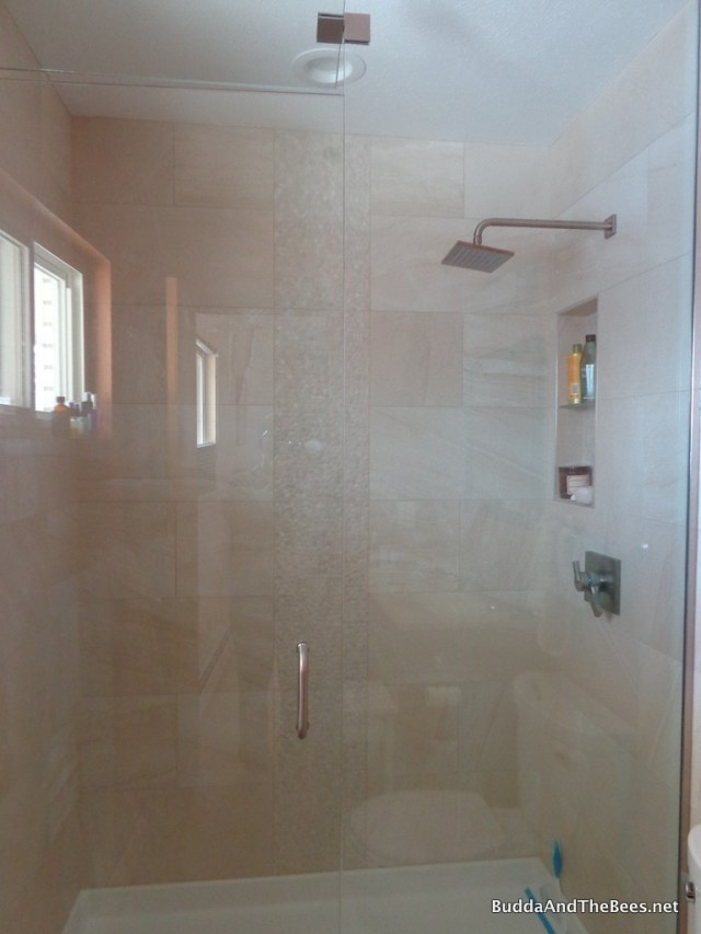 New shower in master bath