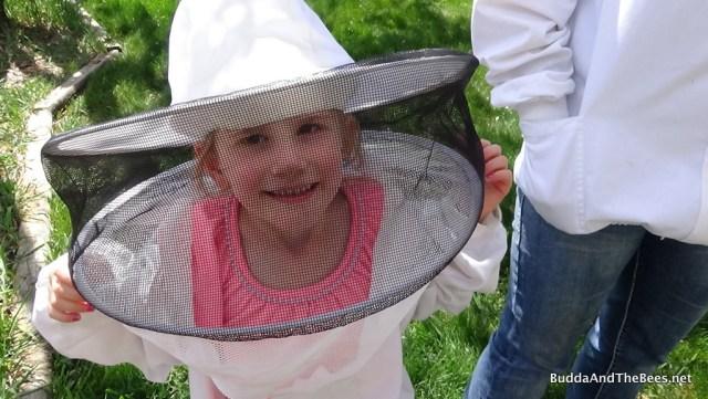 Alayna the beekeeper