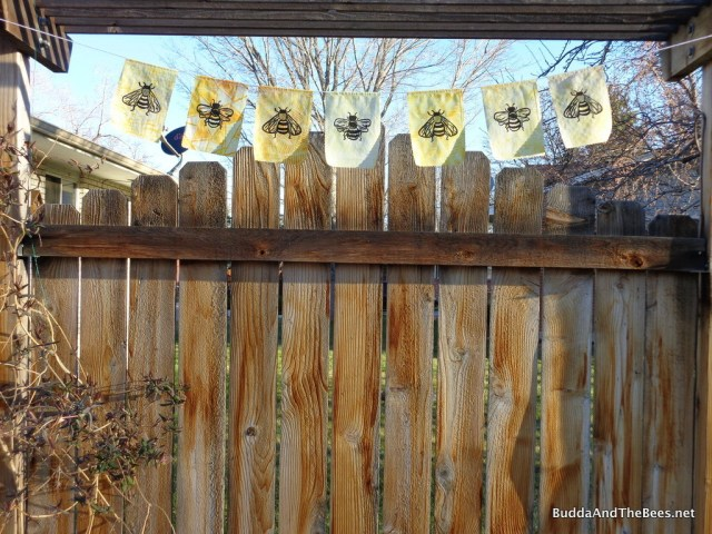 Bee flags