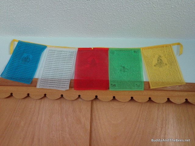Prayer flags from Tibet