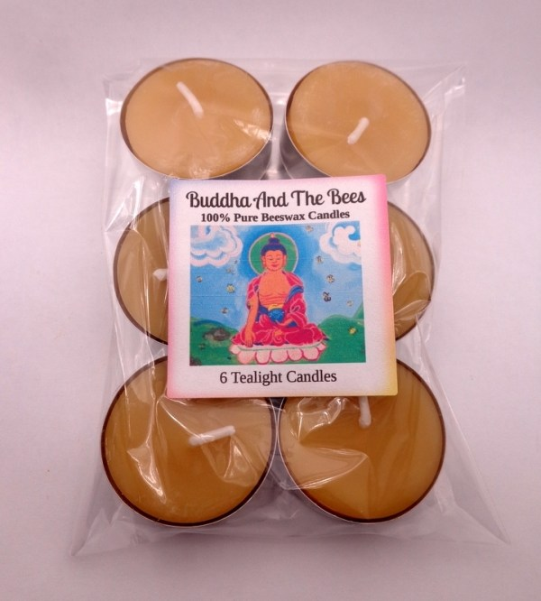 Buddha And The Bees Small Cup Tealight 6-pack