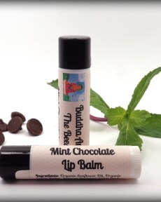 Buddha And The Bees Mint Chocolate Lip Balm