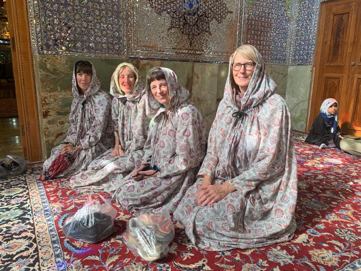 Cultural awareness in Iran