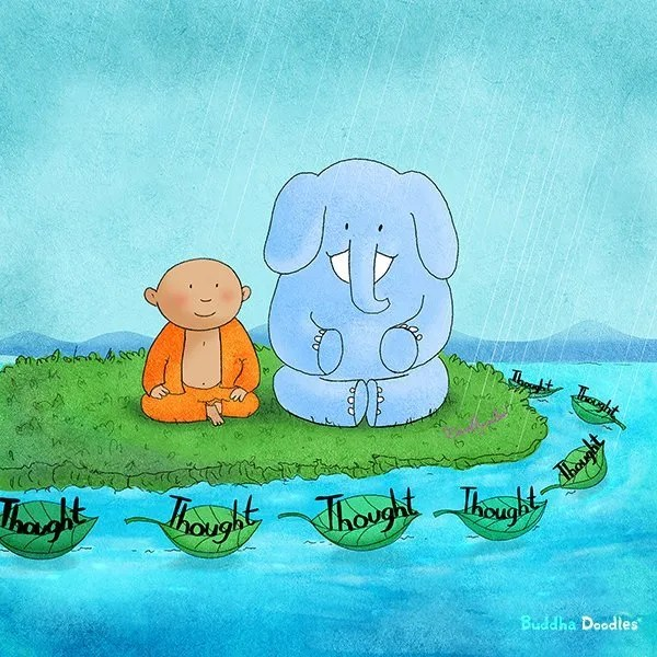 Sign up and receive a free Buddha Doodle Monday, Wednesday, Friday.