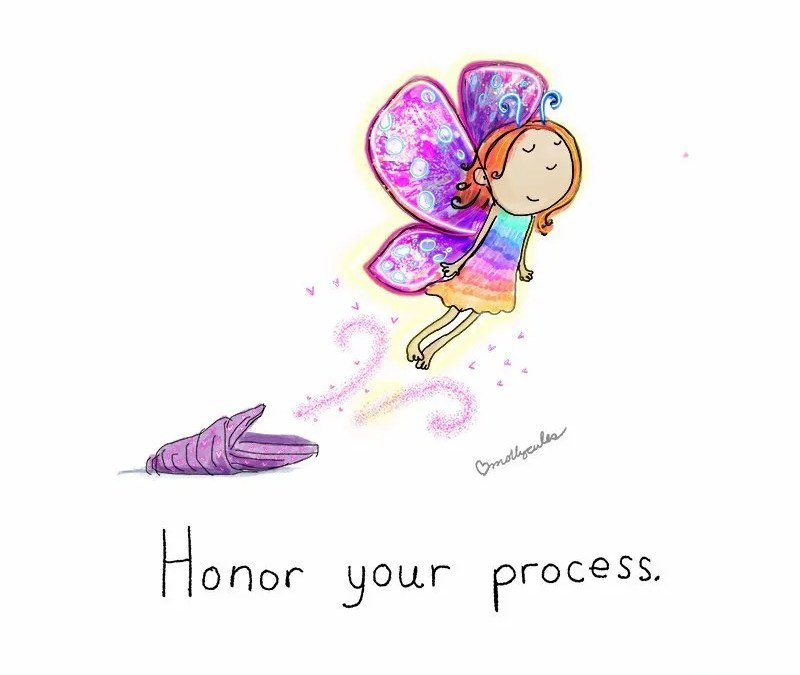 Today's Doodle: Honor your process