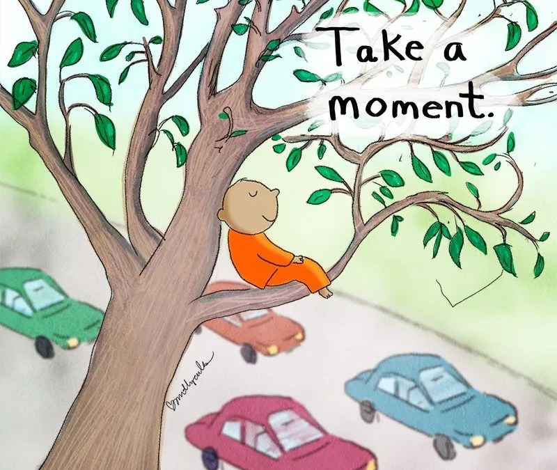 Today's Doodle: Take a Moment