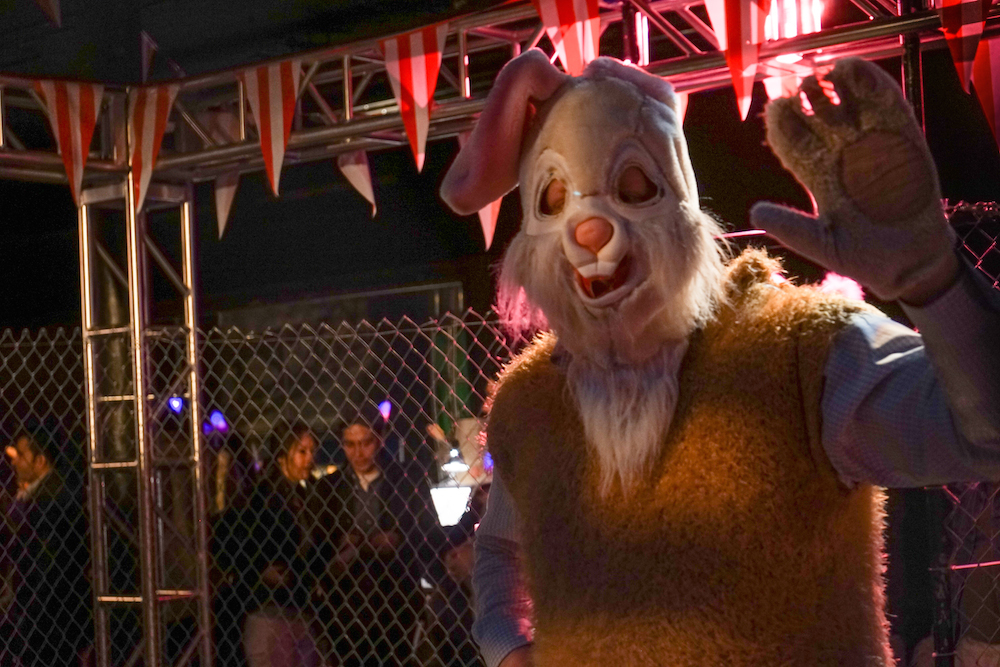Full-Bunny-Contact-Easter-Carnival-NYC-cage-match-creepy-bunny-suits-battle-prizes-lower-east-side-rivington-buddha-drinks-fanta-04838