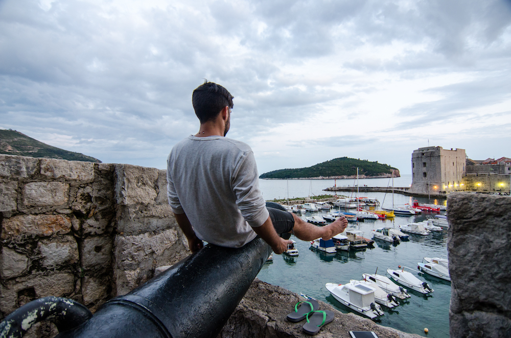 Dubrovnik-Croatia-Old-Town-walls-fort-kayaks-pile-gate-balkans-travel-food-jenny-adams-buddha-drinks-fanta-game-of-thrones-cannon