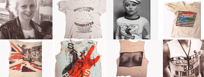 Weekly Novel Clicks D.I.Y Ripped Punk Tees