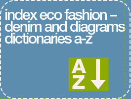 New Index Added Eco Fashion-Denim and Diagrams Dictionaries a-z