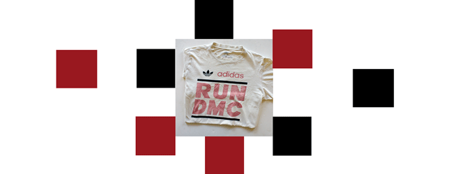 My Original Adidas Run-DMC t-shirt, collectors only. For sale $13,000