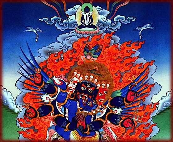 Vajrakilaya is a popular Yidam