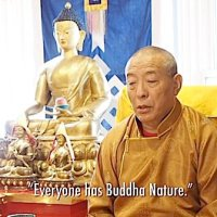 """""""Every one has Buddha Nature."""" A teaching video: Venerable Zasep Rinpoche with mantra chanting by Yoko Dharma"""