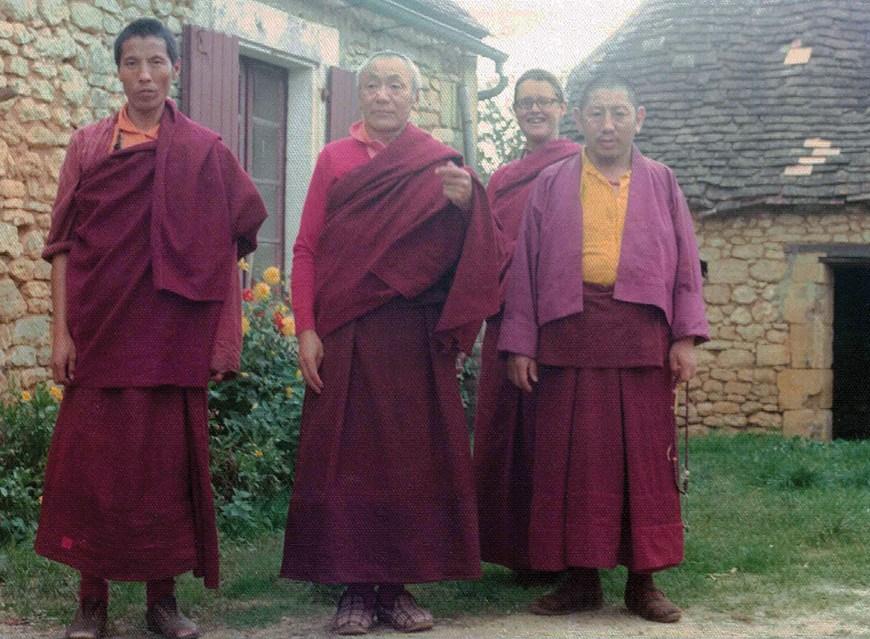 Lama Shenpen with Gendun Rinpoche