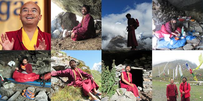 20140118 Surat dan Foto Mingyur Rinpoche dari Tempat Retret_2