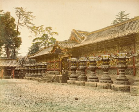 Yushioin Temple, Japan. 1865 Photograph, Los Angeles County Museum of Art (LACMA)