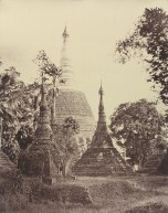 Rangoon. Near View of the [Shwe Dagon] Pagoda.
