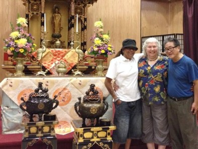 Temple members