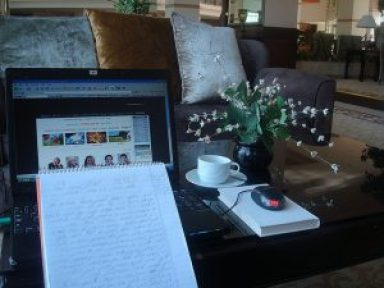 blogging ambiance image